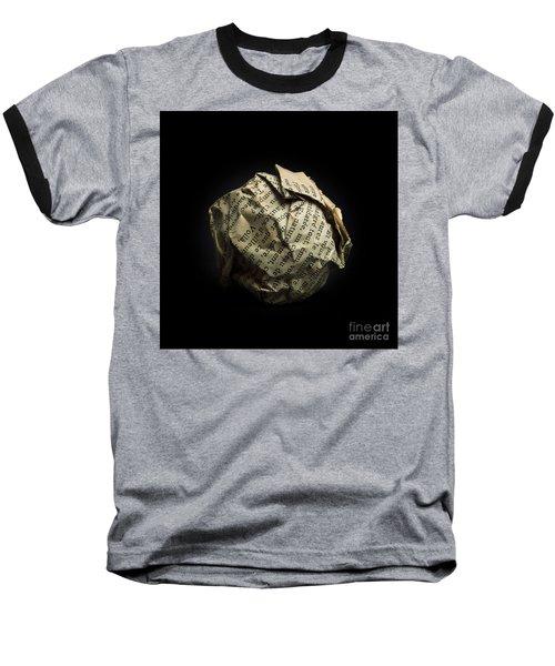 Paper Baseball T-Shirt