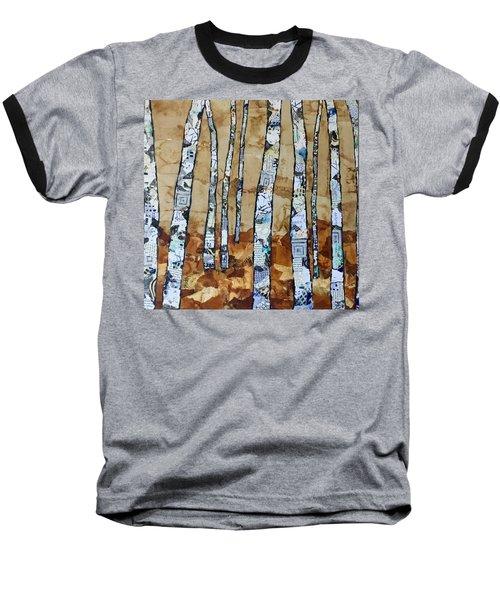 Paper Birch 3 Baseball T-Shirt
