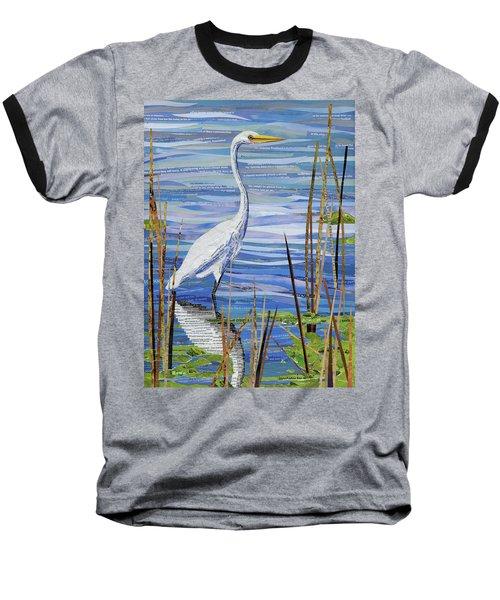 Paper Crane Baseball T-Shirt by Shawna Rowe