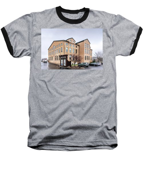 Paper Discovery Center Baseball T-Shirt by Randy Scherkenbach