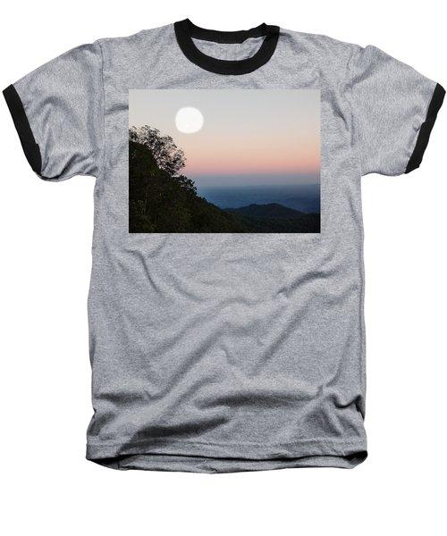 Paper Moon Over Blue Ridge Baseball T-Shirt
