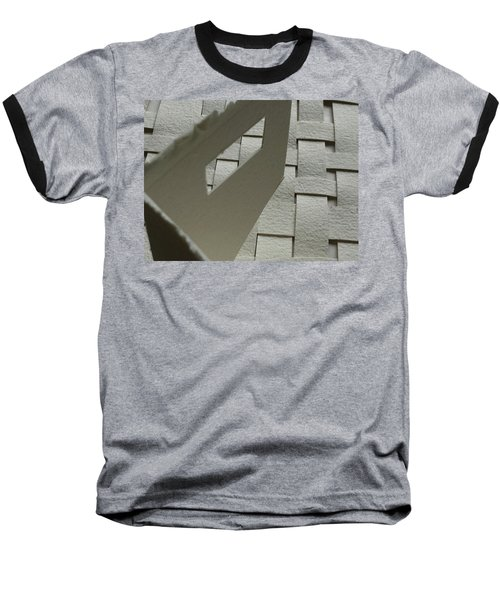 Paper Structure-2 Baseball T-Shirt
