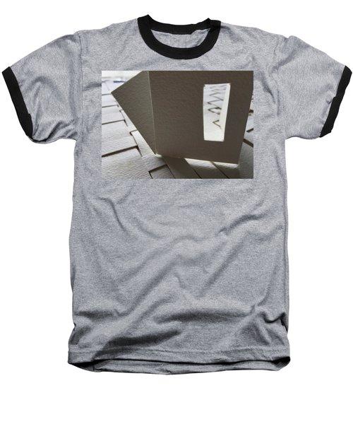 Paper Structure-3 Baseball T-Shirt