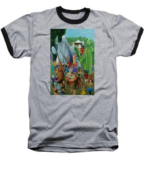 Paperhand Puppet Parade Baseball T-Shirt