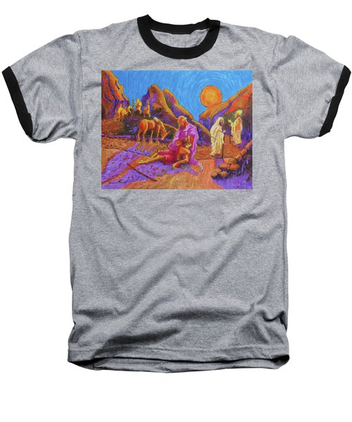 Parables Of Jesus Parable Of The Good Samaritan Painting Bertram Poole Baseball T-Shirt