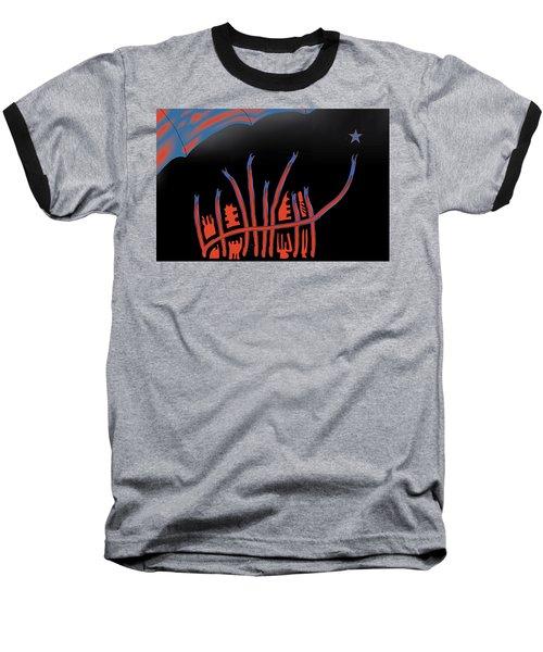 Parade Route Baseball T-Shirt