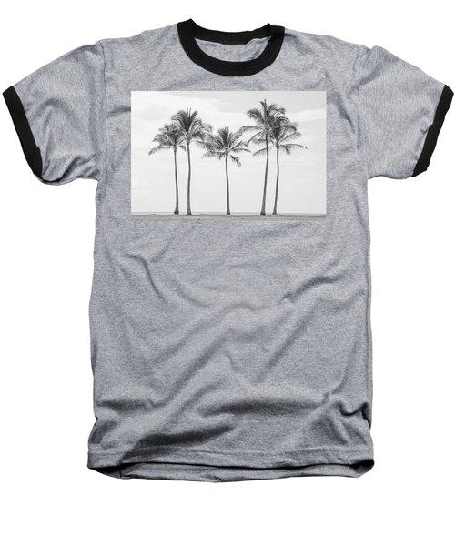 Paradise In Black And White II Baseball T-Shirt