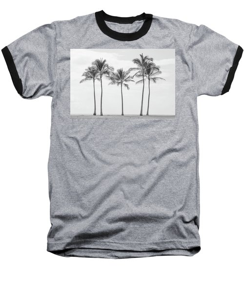 Paradise In Black And White II Baseball T-Shirt