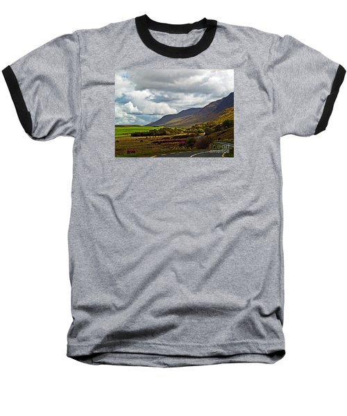 Paradise In Ireland Baseball T-Shirt by Patricia Griffin Brett