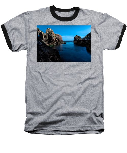 Paradise Lost At Sea Baseball T-Shirt