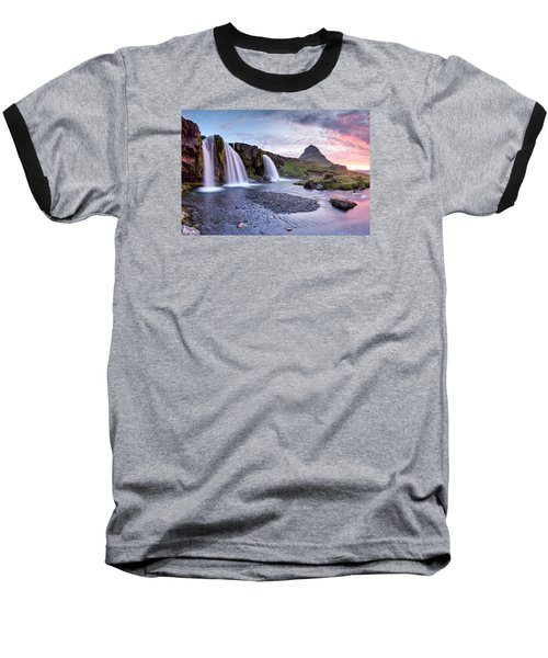 Paradise Lost Baseball T-Shirt by Brad Grove
