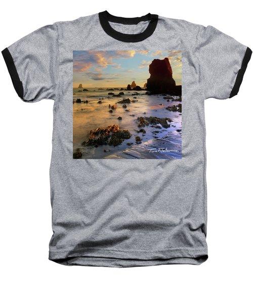 Paradise On Earth Baseball T-Shirt by Tim Fitzharris