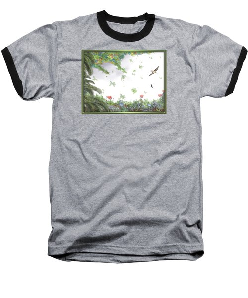 Paradise Without War Baseball T-Shirt