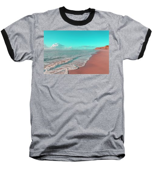 Paradisiac Beaches Baseball T-Shirt