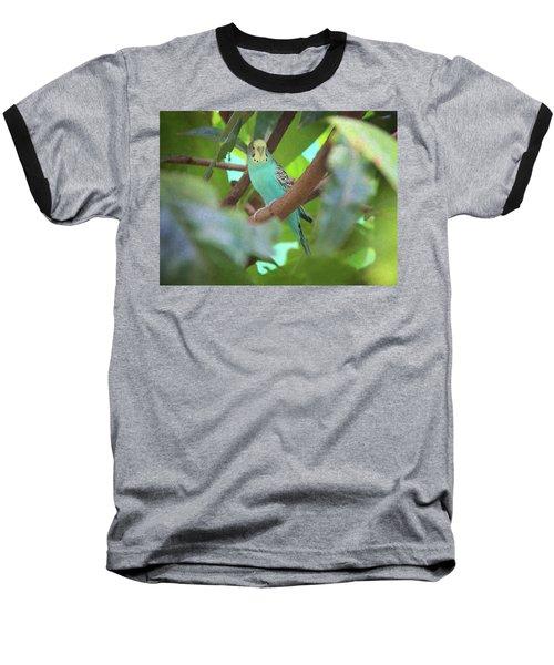 Parakeet Baseball T-Shirt