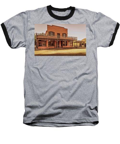 Paramount Ranch Saloon Baseball T-Shirt