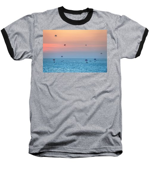 Parasailing At Boracay Baseball T-Shirt