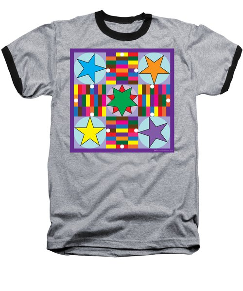 Parcheesi Board Baseball T-Shirt
