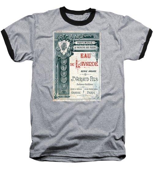 Parfumerie Baseball T-Shirt by Greg Sharpe