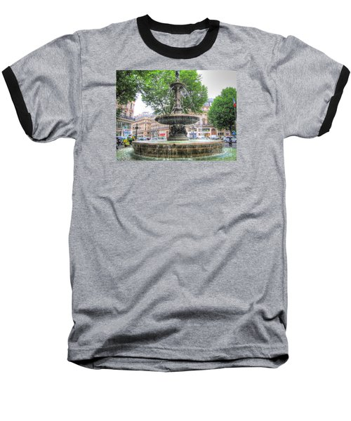 Paris Fontane Baseball T-Shirt
