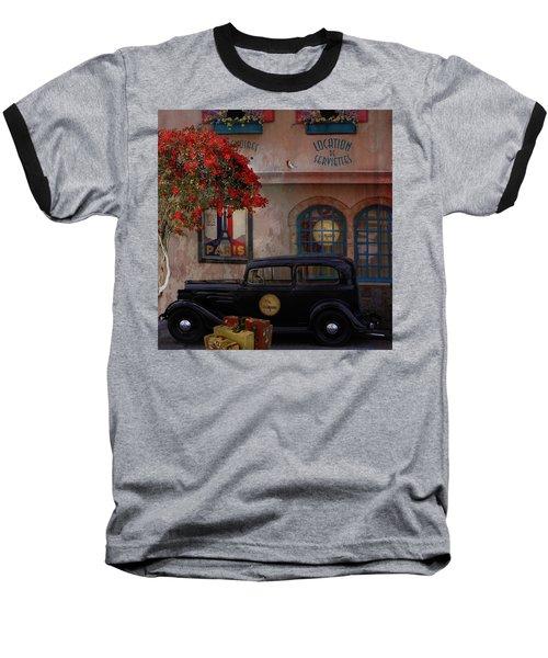 Baseball T-Shirt featuring the digital art Paris In Spring by Jeff Burgess
