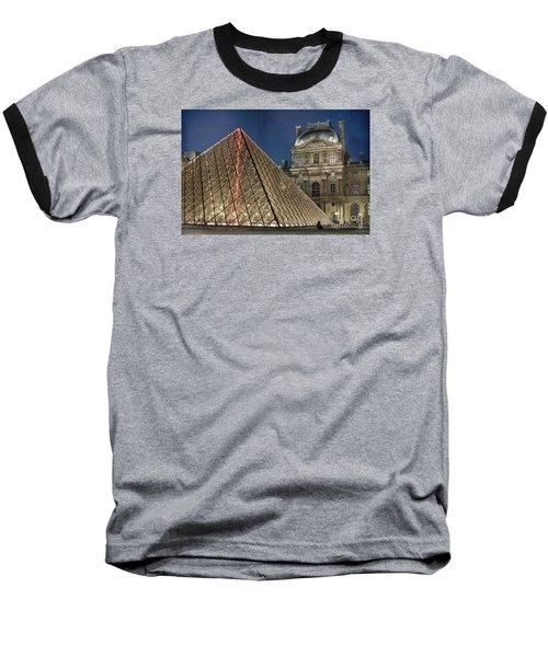 Paris Louvre Baseball T-Shirt