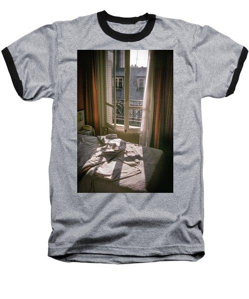 Paris Morning Baseball T-Shirt