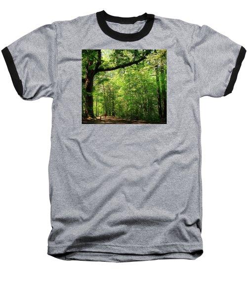 Paris Mountain State Park South Carolina Baseball T-Shirt by Bellesouth Studio