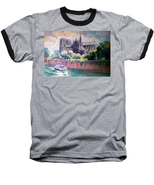 Paris Notre Dame Baseball T-Shirt