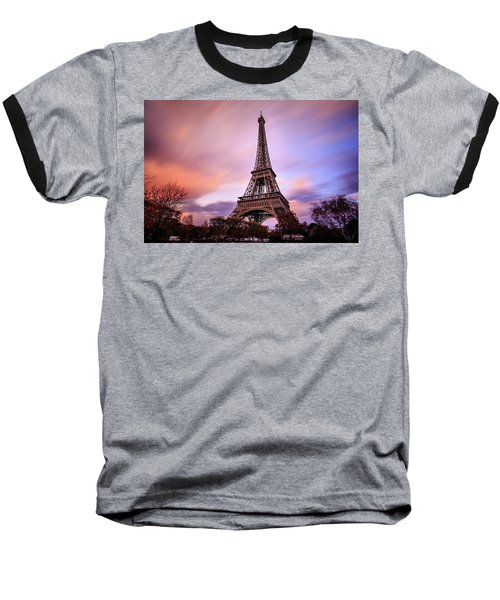 Paris Pastels Baseball T-Shirt