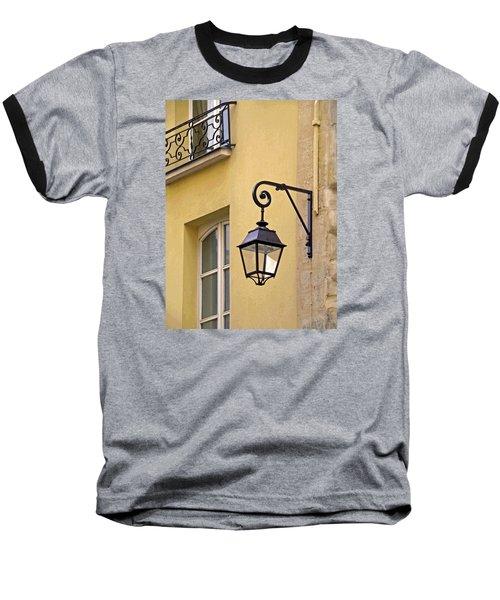 Paris Street Lamp Baseball T-Shirt