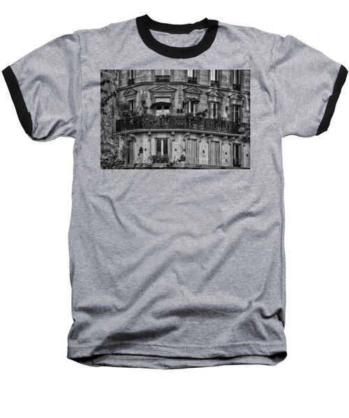 Parisian Apartment Baseball T-Shirt
