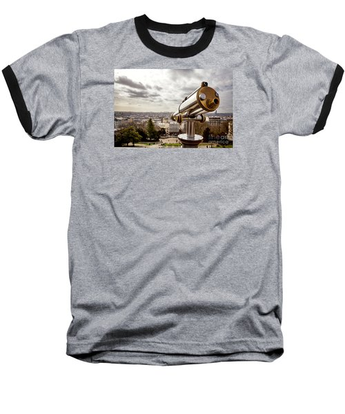 Parisian View Baseball T-Shirt