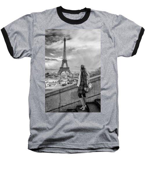 Parisien 2 Baseball T-Shirt