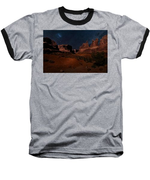Park Avenue Trailhead Baseball T-Shirt