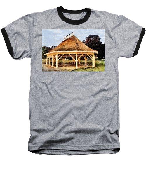 Park Gazebo Baseball T-Shirt