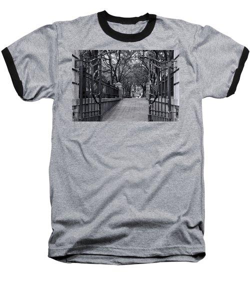 Park Place Baseball T-Shirt by Ed Waldrop