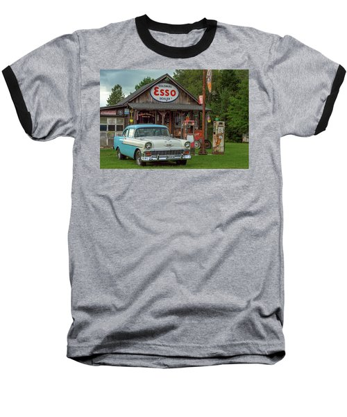 Parked At Ferland Motor Company Baseball T-Shirt