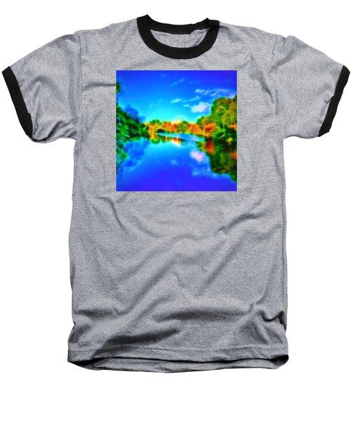 Parkland Symphony Baseball T-Shirt by Andreas Thust