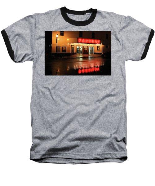 Parkway Night Baseball T-Shirt by Dale R Carlson