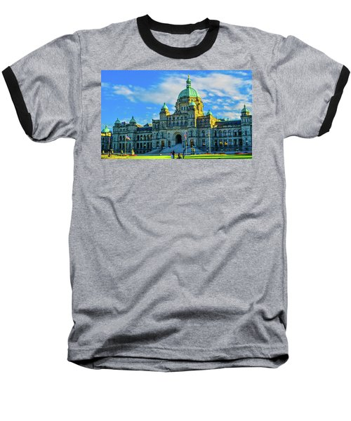 Parliament Victoria Bc Baseball T-Shirt