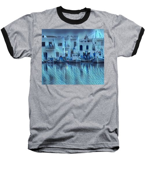 Paros Island Beauty Greece Baseball T-Shirt