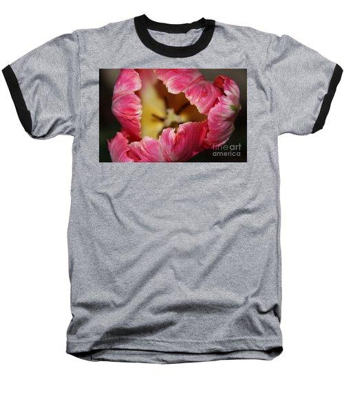 Baseball T-Shirt featuring the photograph Parrot Tulip by Jolanta Anna Karolska