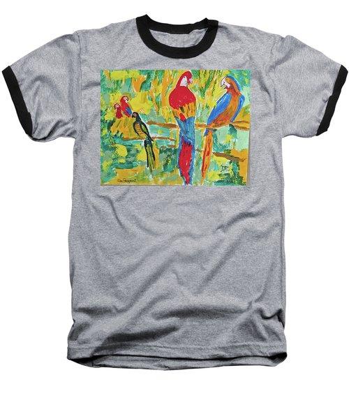 Parrots Baseball T-Shirt