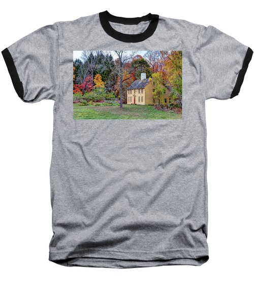 Parson Barnard House In Autumn Baseball T-Shirt