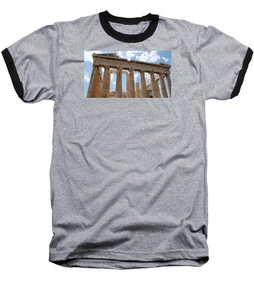 Parthenon Baseball T-Shirt by Robert Moss