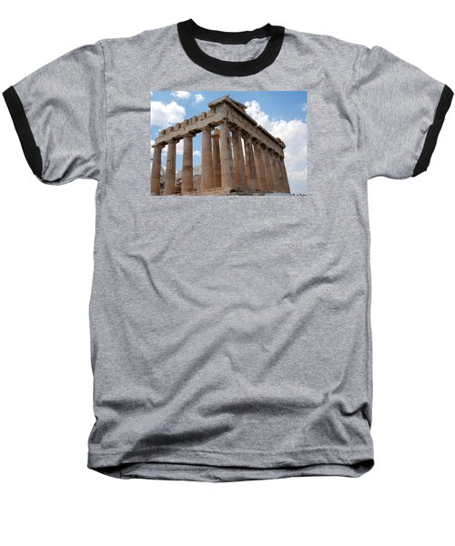 Baseball T-Shirt featuring the photograph Parthenon Side View by Robert Moss