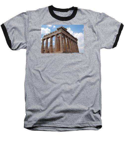 Parthenon Side View Baseball T-Shirt