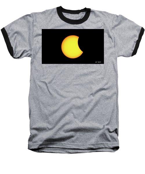 Partial Eclipse 1 Baseball T-Shirt
