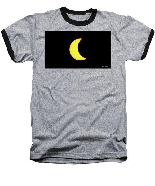 Partial Eclipse 3 Baseball T-Shirt